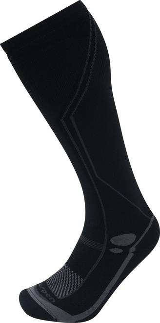Lorpen Men's T2 Ski Midweight Sock Total Black