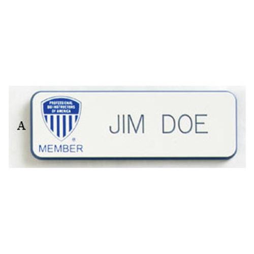PSIA Engraved ID Bar
