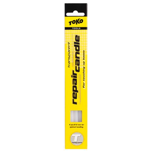 Toko Repair Candle Transparent 6mm 4 pack