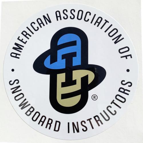 AASI Large Sticker White Background
