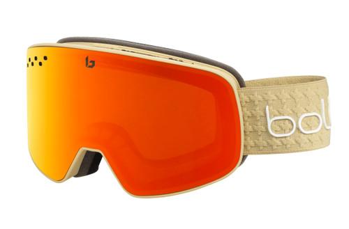 Nevada Goggle - Matte Sand Frame, Sunrise Lens