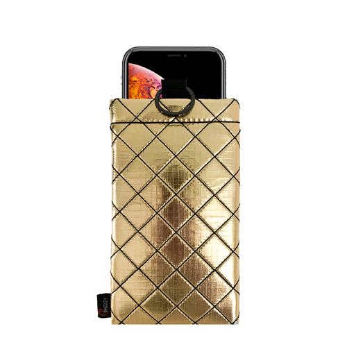 Phoozy Apollo II + Antimicrobial - Insulated Phone Case Gold