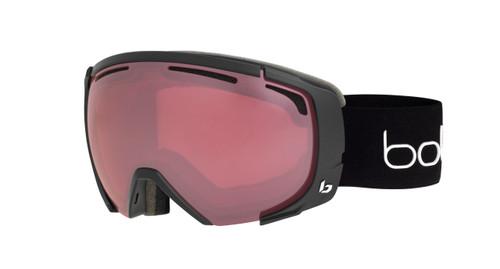 Supreme OTG Goggle Black Corp Matte Frame, Vermillon Gun Lens