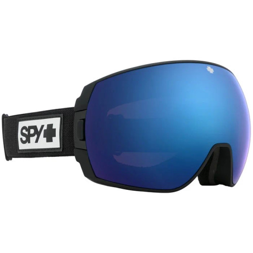 Legacy - Matte Black Frame, Happy Rose with Dark Blue Spectra Mirror - Happy LL Gray Green with Red Spectra Mirror Lenses
