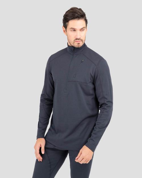 Terramar Men's Therma Wool 1/2 Top