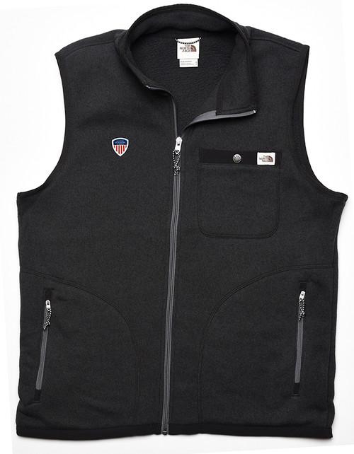 Men's Gordon Lyons Vest Black Heather PSIA Logo