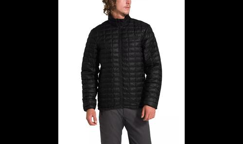 Men's ThermoBall Eco Jacket Matte Black No Logo