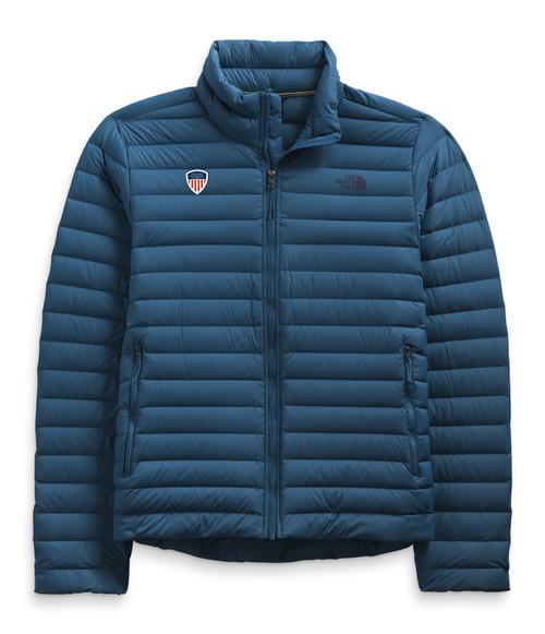 Men's Stretch Down Jacket Monterry Blue PSIA Logo