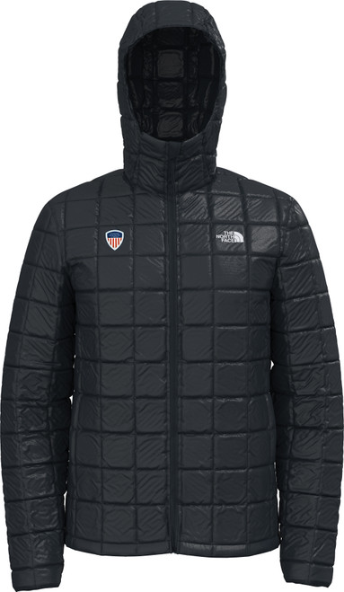 Men's ThermoBall Eco Hoodie Black With PSIA Logo
