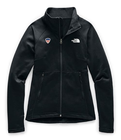 Women's Canyonlands Full Zip Black with PSIA Logo