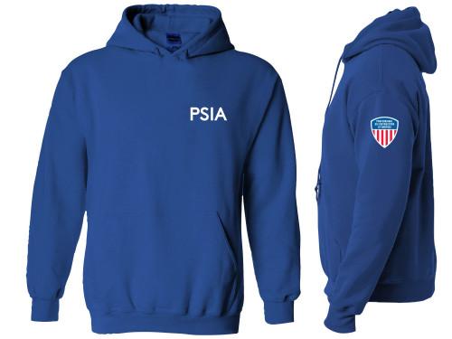 Men's PSIA Hooded Sweatshirt - Dark Royal