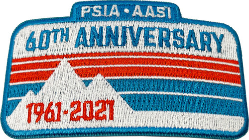 PSIA-AASI 60th Anniversary Patch