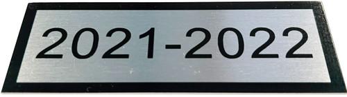 Member School Year Plate