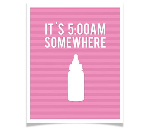 It's 5 A.M. Somewhere