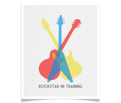 Rockstar In Training!
