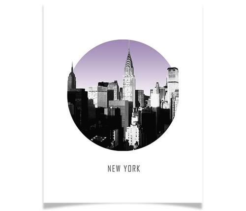 New York Circle Skyline