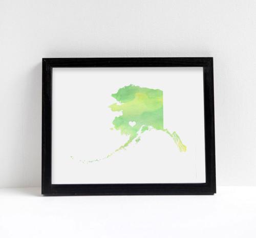 Alaska - Watercolor Series