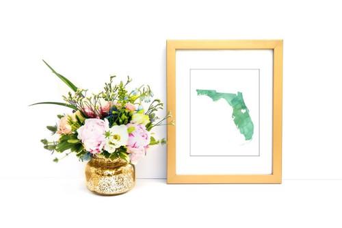 Florida - Watercolor Series