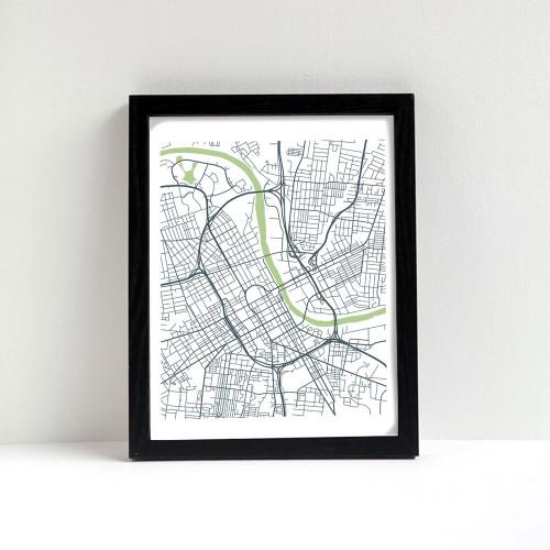 Nashville City Map