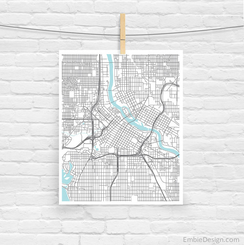 Minneapolis City Map