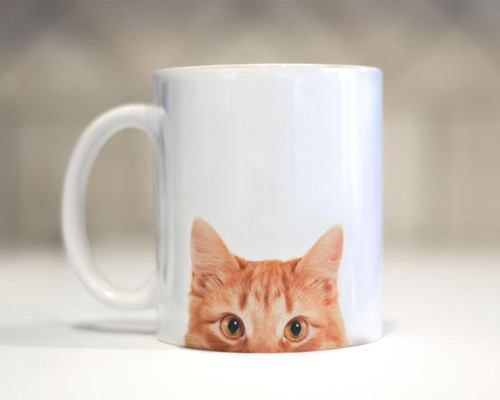 Red Tabby Cat Mug