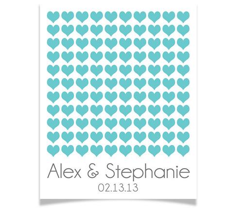110 Wedding Hearts