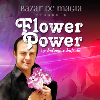 Flower Power (DVD and Gimmick) by Bazar de Magia - DVD