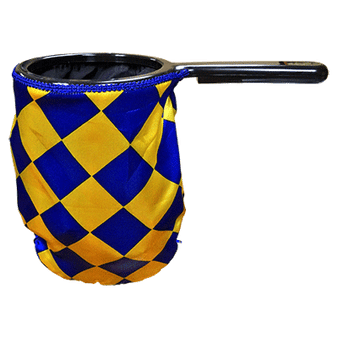 Change Bag Diamond with Zipper (Blue/Yellow) by Bazar de Magia - Trick