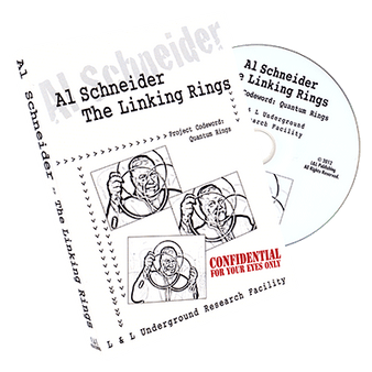 Al Schneider Linking Rings by L&L Publishing - DVD