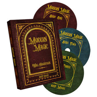 Modern Magic (3 DVD set) by Will Houstoun and RSVP Magic - DVD