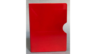 Card Guard (Red/ Plain) by Bazar de Magia