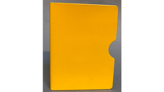 Card Guard (Yellow/ Plain) by Bazar de Magia