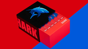 6 Shark Playing Cards (Free 6 Box Case Included) by Riffle Shuffle