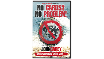 No Cards, No Problem by John Carey - DVD