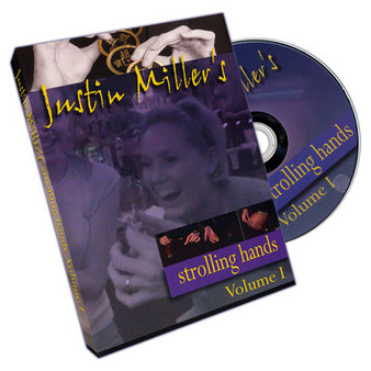 Strolling Hands Volume One by Justin Miller - DVD