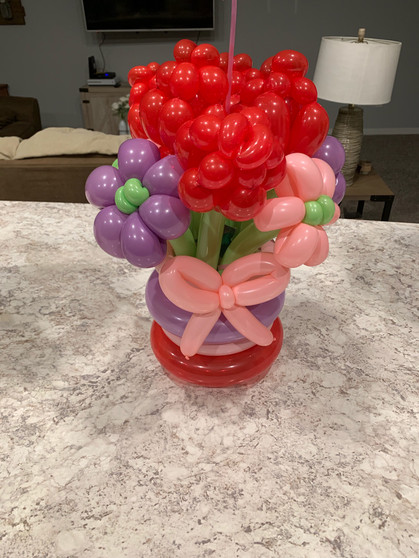 Balloon Arrangements Design Delivered (Birthday, Mothers Day,Get Well Soon, I Love You)