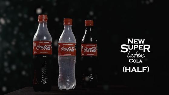Super Latex Cola Drink (Half) by Twister Magic - Trick