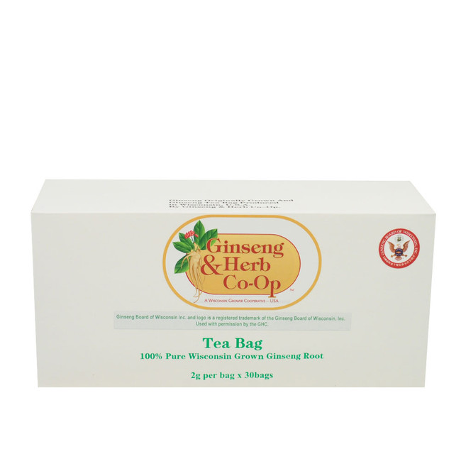 Ginseng Tea-Large Box (30 Bags)