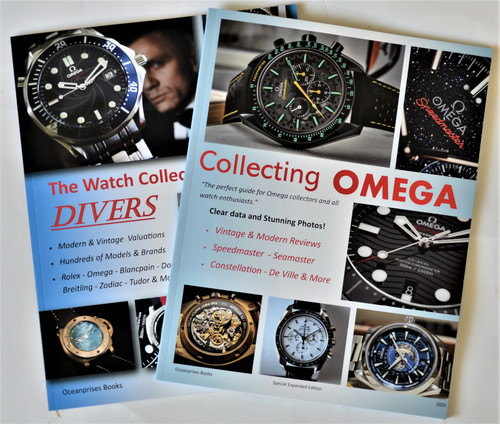 Two Books Combo Collecting Omega + Watch Collector's Guide to Divers