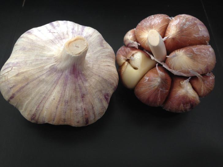 Spanish Roja Bulk Organic Garlic Seed