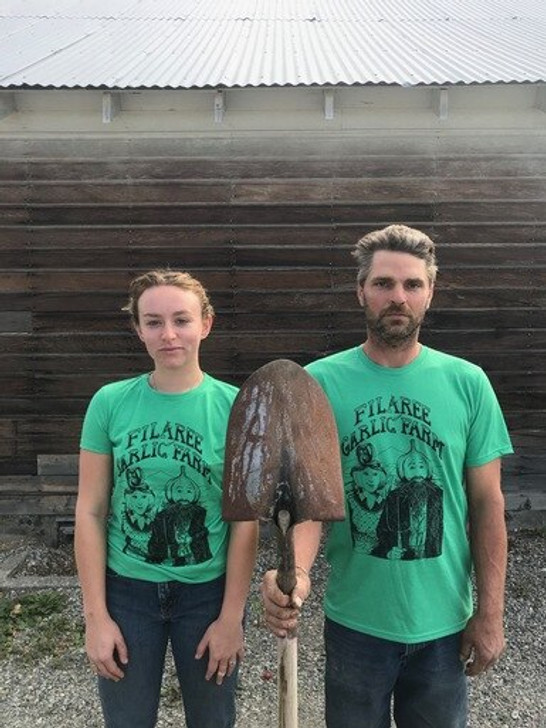 Womens American Gothic T-Shirt Organic Farm