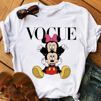 Women and Girls Mickey and Minnie Mouse T shirt; Minnie T shirt; Mickey T shirt; Disneyland T-shirt; Disney world