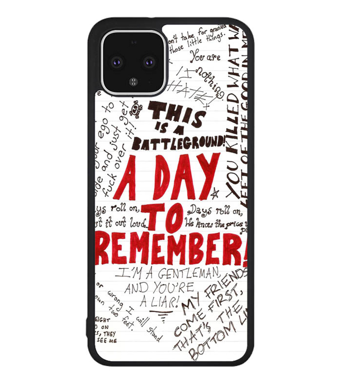 A Day To Remember Wallpaper Y0237 Google Pixel 4 Case Flazzy Store