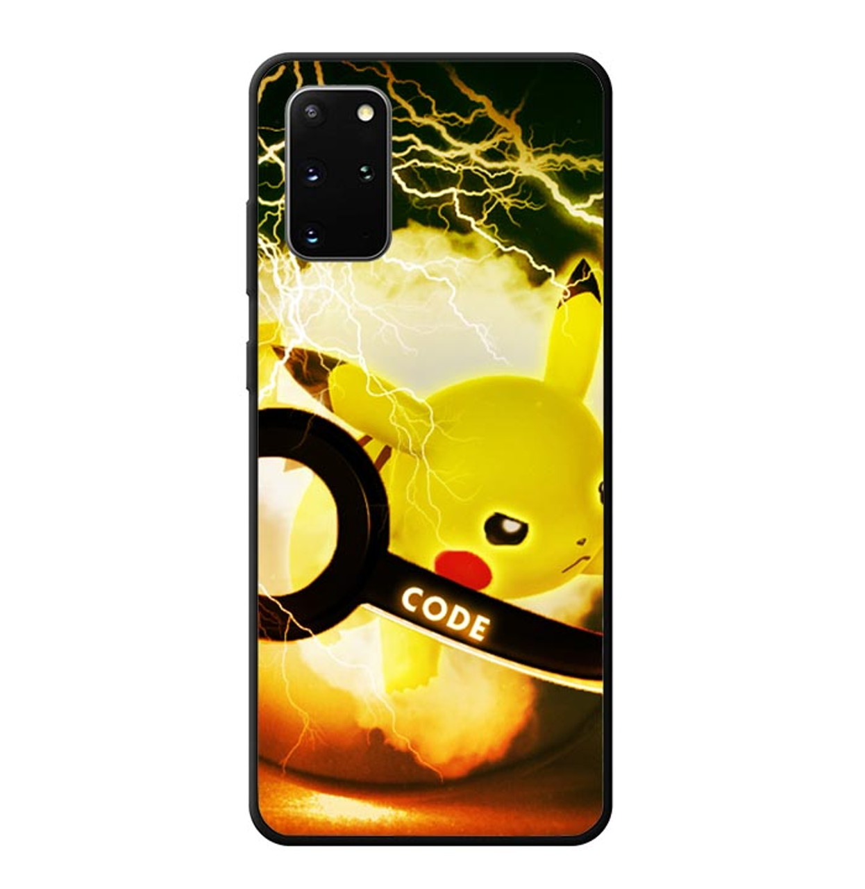 Pikacu Pokemon Ball Wallpaper Y1834 Samsung Galaxy S20 Plus S20 5g Case Case Flazzy Store
