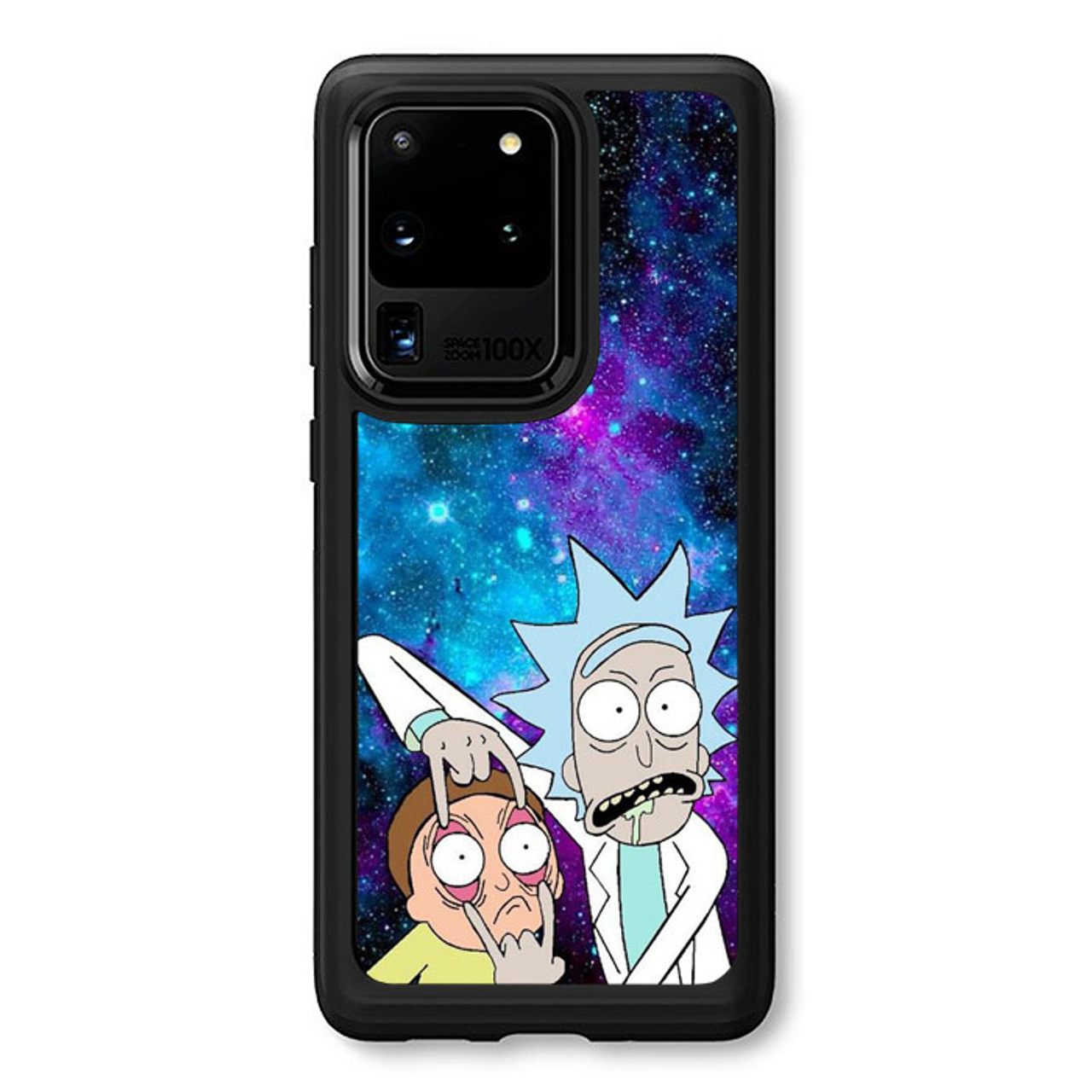 Rick And Morty Wallpaper Q0220 Samsung Galaxy S20 Ultra 5g Case Flazzy Store