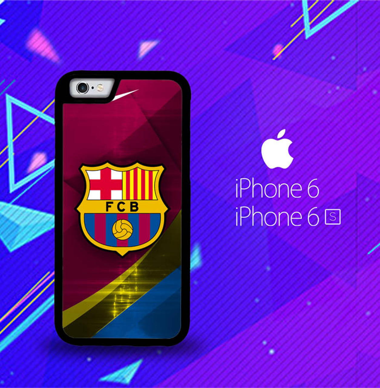 Fc Barcelona Nike O0444 Iphone 6 Iphone 6s Case Flazzy Store