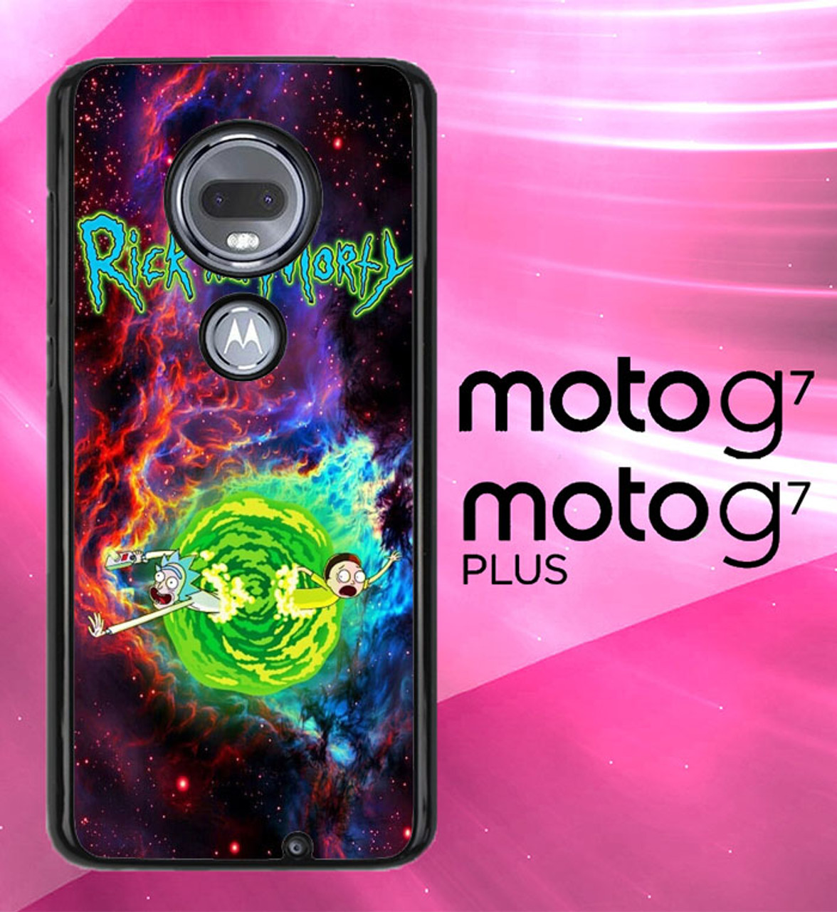 Rick And Morty Wallpaper X8922 Motorola Moto G7 G7 Plus Case
