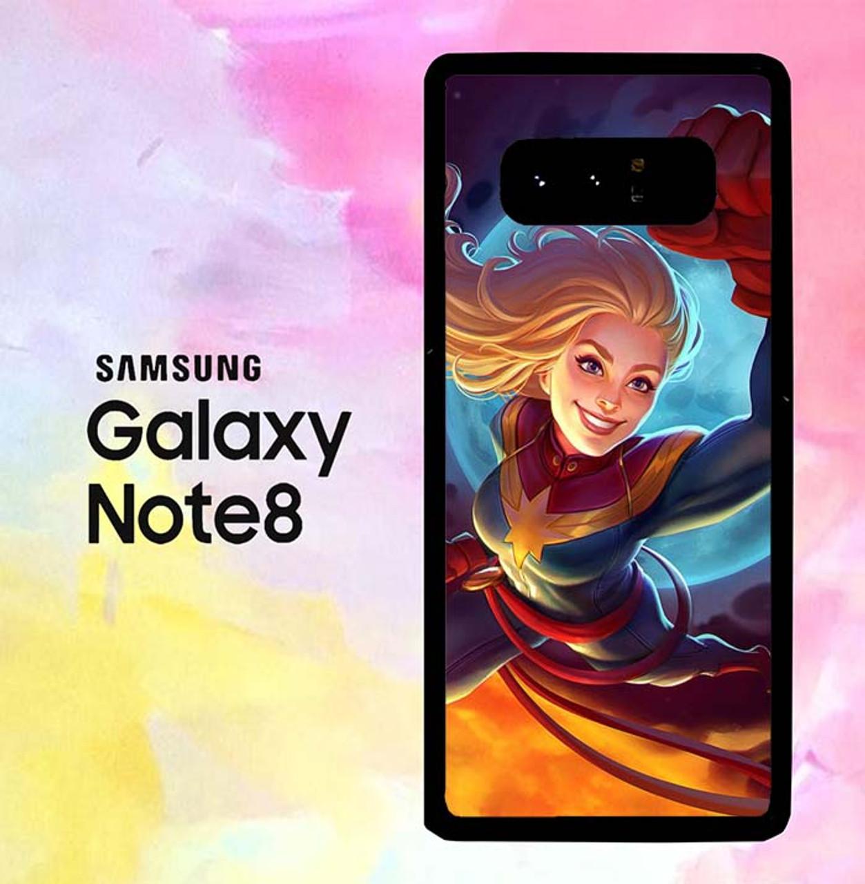 best service 31f22 764c3 Captain Marvel Cool Art P0584 Samsung Galaxy Note 8 Case