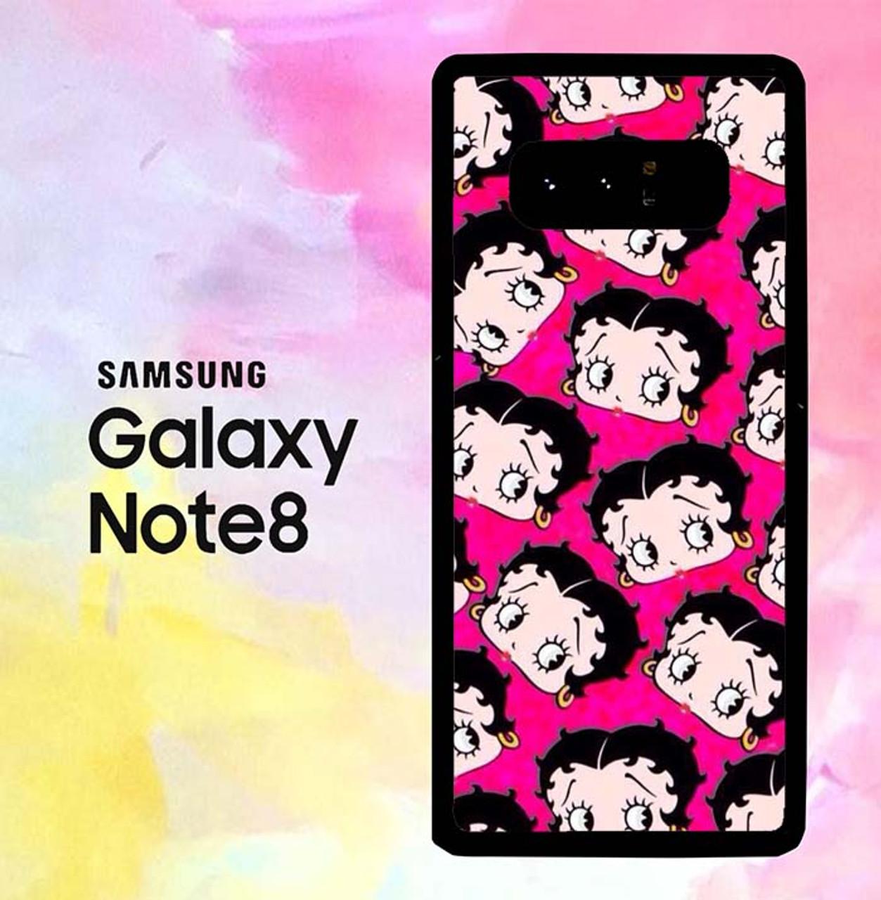 Betty Boop Wallpaper P0626 Samsung Galaxy Note 8 Case