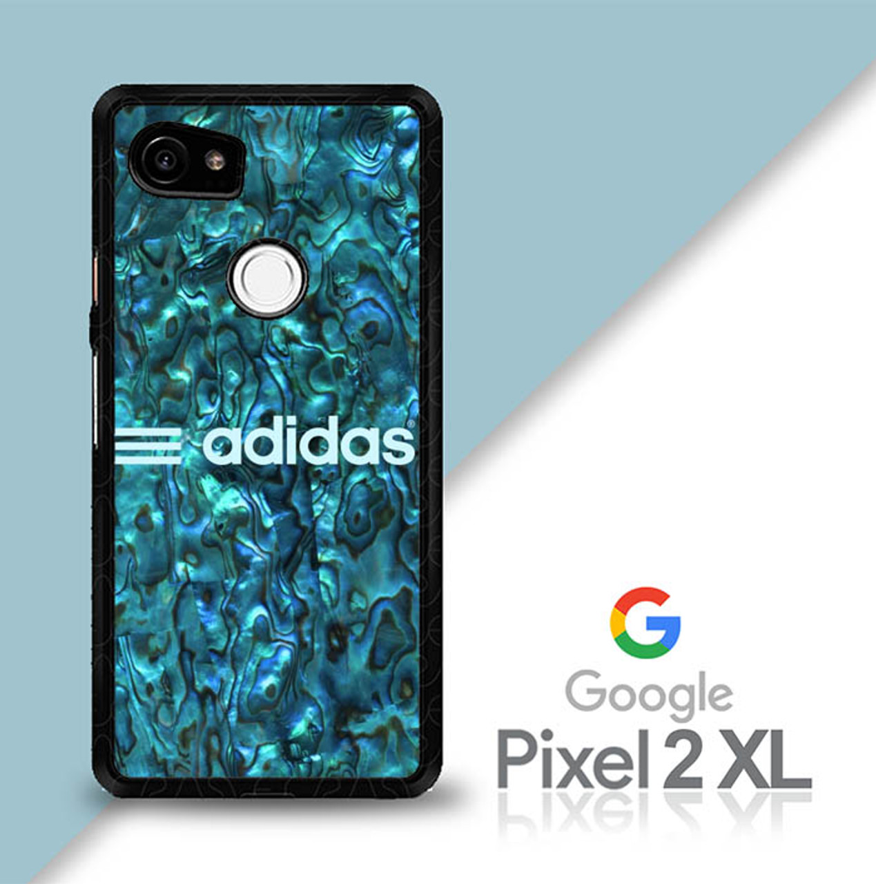 the best attitude 135ce 846a0 Abalone Adidas Stripe E1795 Google Pixel 2 XL Case